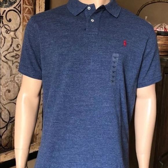 fc8961070ac Polo by Ralph Lauren Shirts | Mens Polo Ralph Lauren Custom Fit Mesh ...